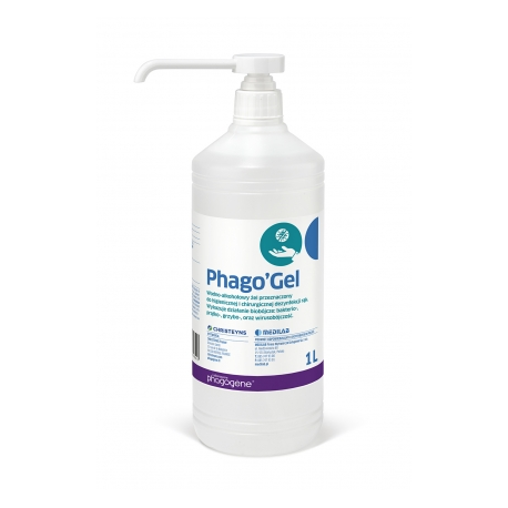 AniosGel 85 NPC 500 ml - Alcohol gel for hand disinfection - with pump