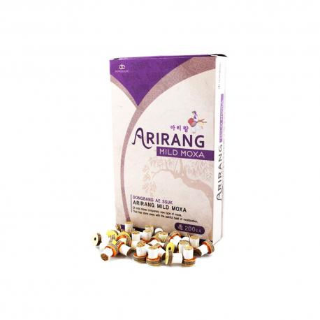 Mini moksa z plastrem i podstawką Arirang