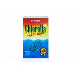 Chlorella SUPER ALGA 500 tabletek