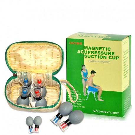 Bańki HACI gumowe z magnesem (12 szt)
