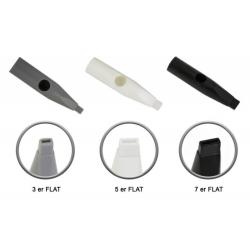Универсальная дюза для игл типа S для плоско спаянных игл типа 2F, 3F, 5F, 7F