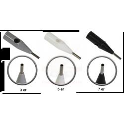 Универсальная дюза для игл типа S для кругло спаянных игл типа 3R, 5R, 7R