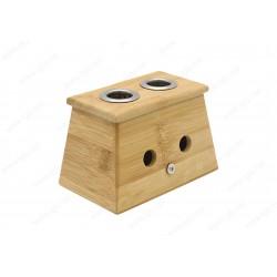 Drewniany pojemnik na moksa cygara