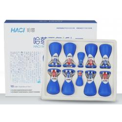 Bańki HACI gumowe z magnesem (10 szt)