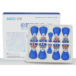 Rubber HACI bulbs with magnet 10 pcs.