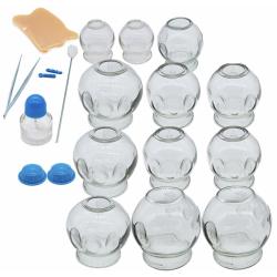 Комплект стеклянных вакуумных банок 12 шт