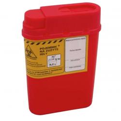 Pojemnik na zużyte igły 0,2 litra