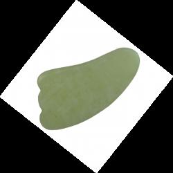 GUA SHA w kształcie muszelki jadeit