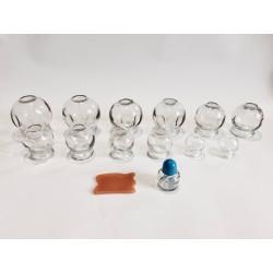 Zestaw baniek szklanych 12 szt